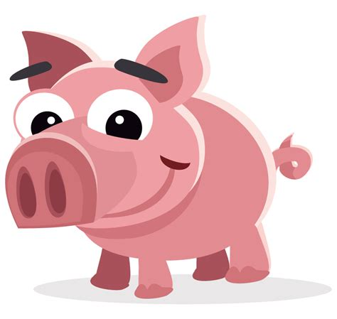 animated clipart free pig free to use clipart clipartix