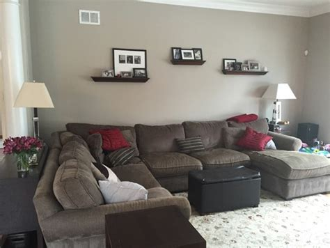 family room great room sectional or two couches