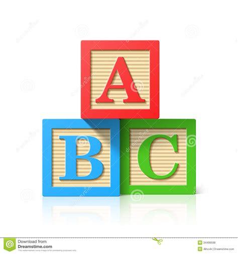 Lettre De L école Freudienne Cubes En Bois En Alphabet Avec A B Lettres De C Photos Libres De Droits Image 34499598