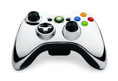 Chrome Xbox 360 Controller | microsoft chrome series xbox 360 controllers announced