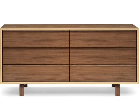 6 Drawer Dresser by Cherner 6 Drawer Dresser Hivemodern