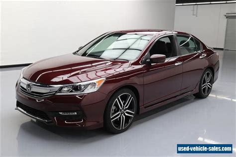 Honda Accord 4 Door by 2017 Honda Accord For Sale In The United States