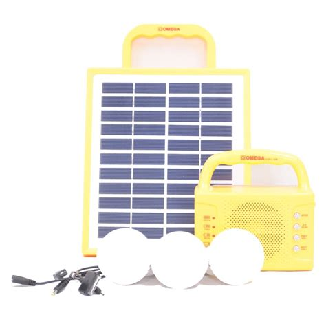 omega solar home lighting system osp l10r bulkdeal