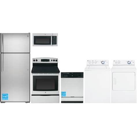 ge gte18gsh complete home appliance package brandsmart usa