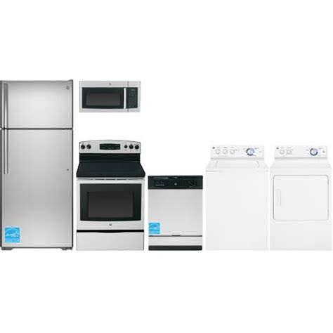 ge gte18gsh complete home appliance package brandsmart usa