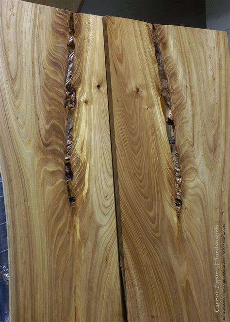 live edge elm wood slab custom solid hardwood table tops live edge slabs