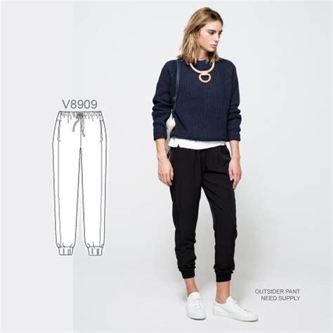 joggers pants pattern long live the chic jogger pant sew the look with vogue
