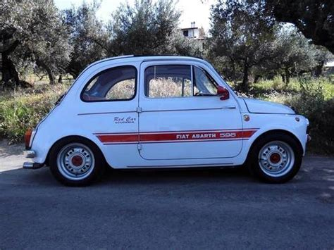 fiat 500d abarth 595 last year of the 500d for sale 1965