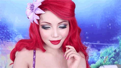 makeup tutorial little mermaid the little mermaid makeup tutorial disney princess ariel