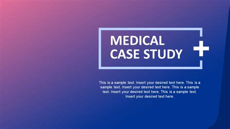 Medical Case Study Powerpoint Template Slidemodel Study Powerpoint Presentation Template
