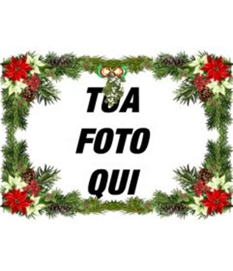 cornici per foto di natale cornice per foto con decorazioni per l quot albero di natale