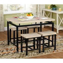 Small Kitchen Nook Tables Dining Table Set For 4 Small Kitchen Bench Chairs Breakfast Nook 5 Pieces New What S It Worth