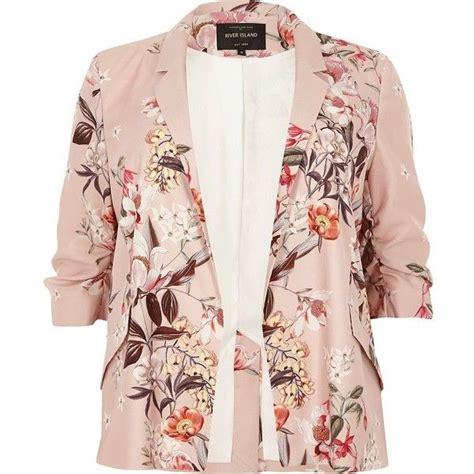 Pink Flower Jacket pink floral blazer for vcfa