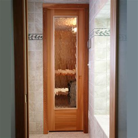 Residential Sauna Door 16 Quot X67 Quot Rain Glass Window Glass Sauna Door