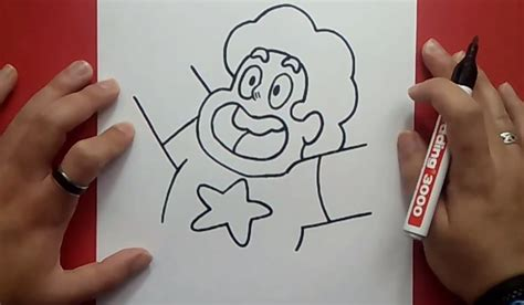 imagenes de steven universe para dibujar faciles como dibujar a steven paso a paso steven universe how
