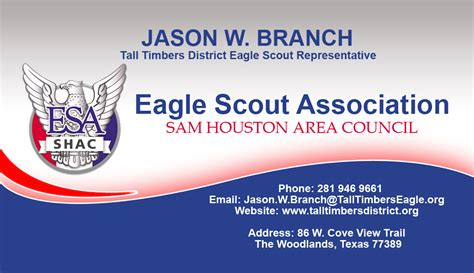 boy scouts of america business card template masculine serious building business card design for a