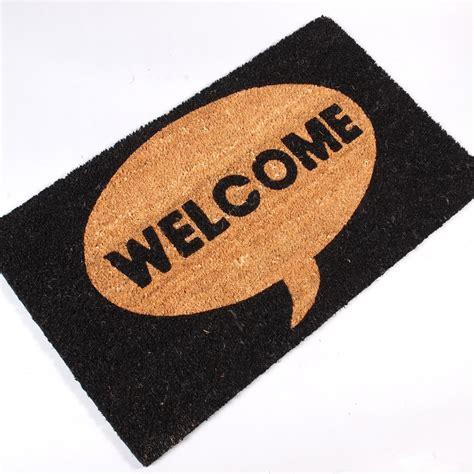 Large Welcome Mat Big Door Mat Welcome Carpet Floor Coir Rug 100 Coconut
