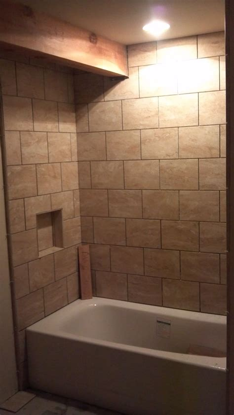 ceramic tile tub surround bathroom tubs fixtures