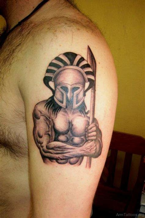 ancient ink tattoo 75 stunning warrior tattoos for arm