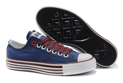 Sepatu Converse All Low Bluepink all blue converse multi lines low tops canvas shoes
