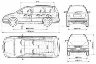 Honda Odyssey Width Honda Odyssey Dimensions 2017 Ototrends Net