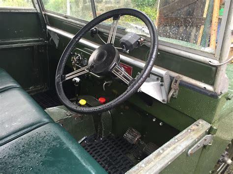 Topi Land Rover Series One Club land rover series 1 80 quot 1950 lyd 530 williams classics