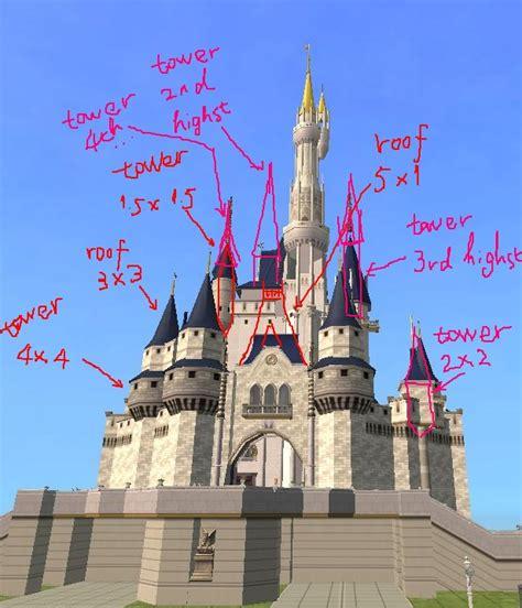 Online Floorplan mod the sims build quot disney castle quot online new