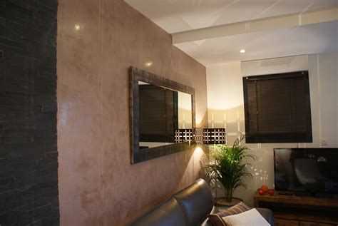 Decoration Stucco Peinture by D 233 Coration Salon Peinture Stucco