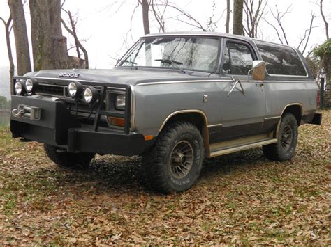1987 dodge ramcharger 4x4 8 cyl for sale in huntsville al