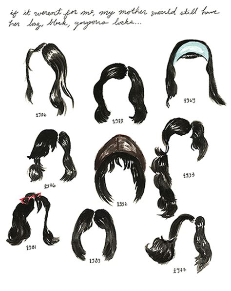 different era hair styles hairy history on sva portfolios