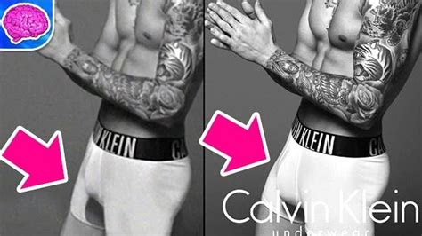 justin biebers calvin klein bulge before and after photoshop justin bieber s bulge photoshopped in calvin klein ad