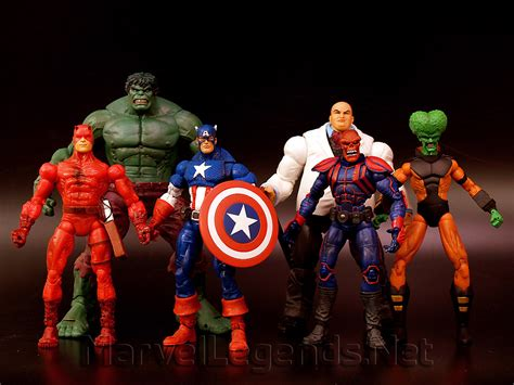 3 In One Legend Collections marvel legends series 1 pinned by