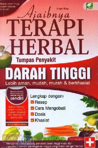bukukita ajaibnya terapi herbal tumpas penyakit darah tinggi