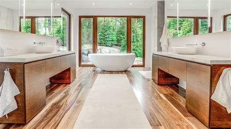 contemporary bathroom in oak ateliers jacob