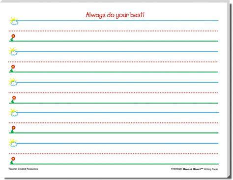 smart start writing paper smart start k 1 writing paper 100 sheets tcr76501