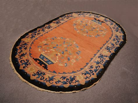 oval rugs for sale antique oval deco rug for sale at 1stdibs