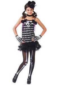 halloween costumes girls girls skeleton costume