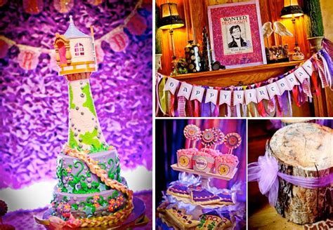 Tangled Decorations by Princess Cake Kara S Ideas