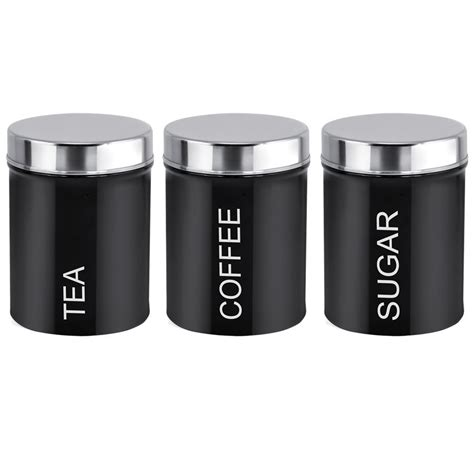Kitchen Canisters Red Online Buy Wholesale Tea Coffee Sugar Canisters Black From