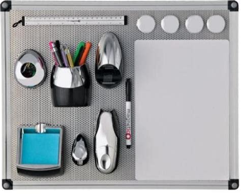 magnetic desk organizer axcess npnet4050 magnetico more desk space kit organizer