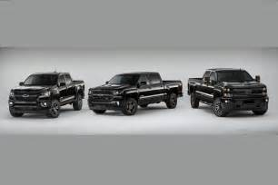 chevy gives 2016 lineup the blacked out midnight