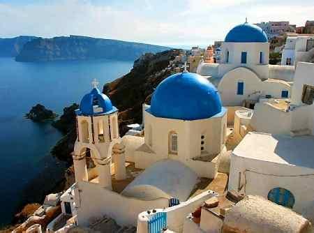 casa vacanza santorini vacanze in grecia sempre pi 249 italiani scelgono le
