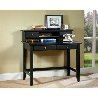 sears computer desk with hutch home styles bedford 42 quot w student computer desk hutch ebony