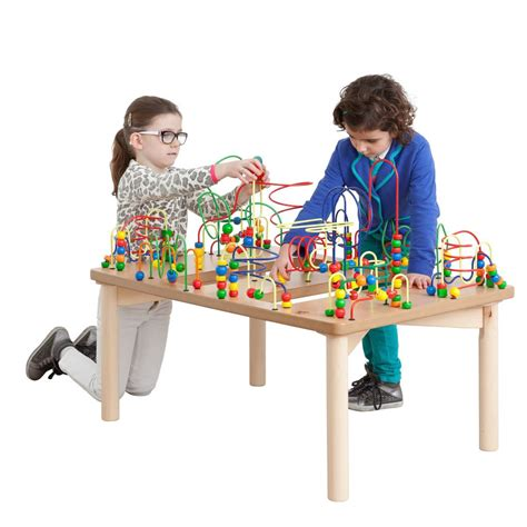 bead maze table bead table bead maze table for and toddlers