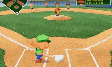 backyard baseball game online pablo sanchez the origin of a video game legend only a game
