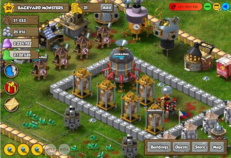 Backyard Monsters by Apps4review Backyard Monsters Build Your Empire Of