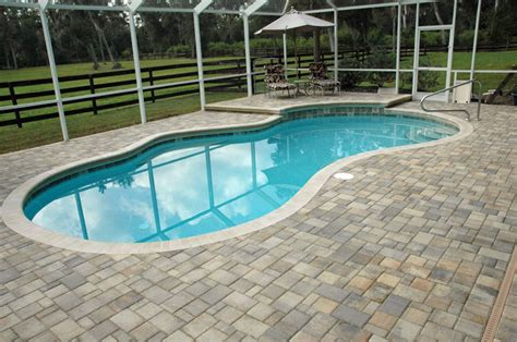 Paver Pool Deck | gatorland pavers gainesville florida pavers and