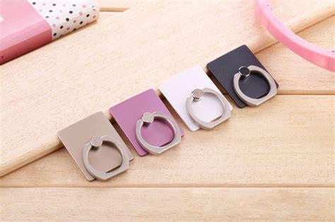 Finger Iring Smartphone Holder Dengan Hook Black Limited finger iring smartphone holder black jakartanotebook