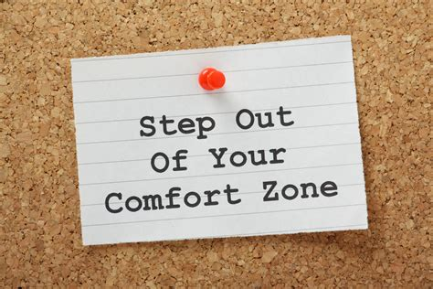 Out Of Comfort Zone choose to get out of your comfort zone o meara