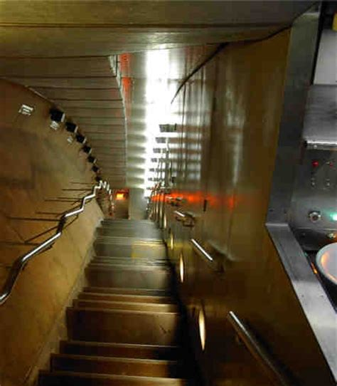 staircase inside the st louis arch been there